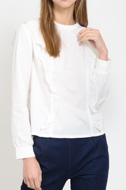 Movint Ruffle Detail Top - Front cropped