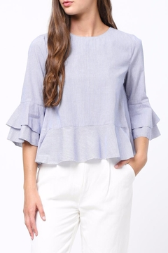 Shoptiques Product: Ruffle Detailed Top
