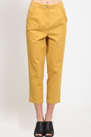 Movint Ruffle Pocket Trousers - Front cropped