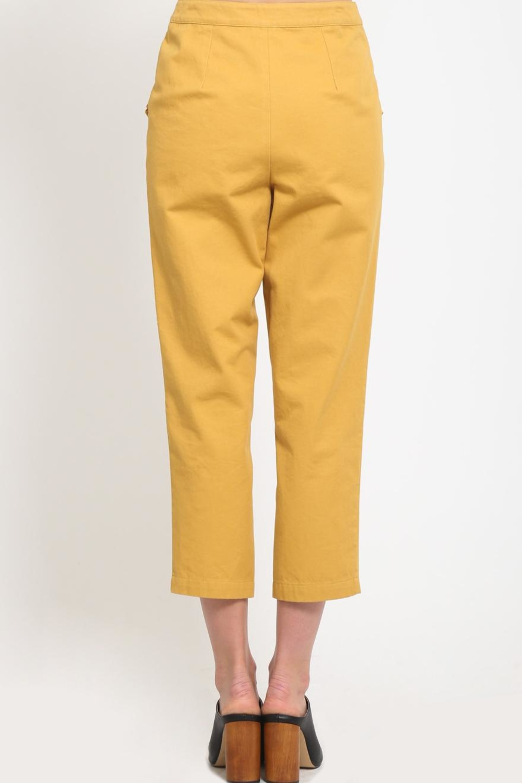 Movint Ruffle Pocket Trousers - Side Cropped Image
