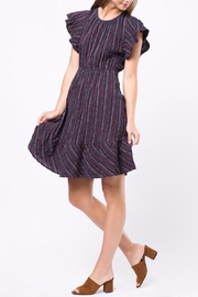 Movint Ruffle Sleeve Dress - Front cropped