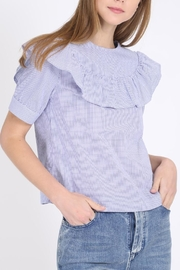 Movint Ruffle Sleeve Top - Product Mini Image