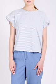 Movint Ruffle Tee Shirt - Front cropped