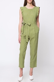 Movint Ruffled Sleeveless Jumpsuit - Front cropped
