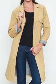 Movint Sash Tie Trench Jacket - Front cropped