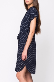 Movint Mandarin Collar Dress - Side cropped