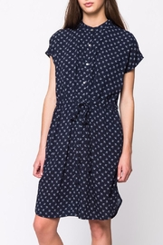 Movint Mandarin Collar Dress - Product Mini Image