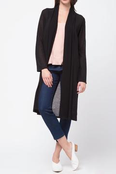 Shoptiques Product: Shawl Collar Cardigan With Pocket