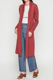 Movint Shawl Collar Cardigan - Front cropped
