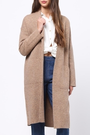 Movint Shawl Collar Coat - Product Mini Image