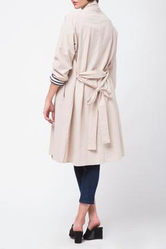 Shoptiques Product: Shawl Collar Trench Coat