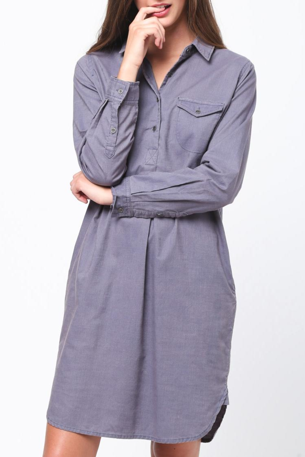 Movint Shirt Dress - Main Image