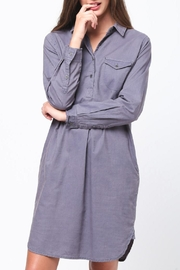 Movint Shirt Dress - Front cropped