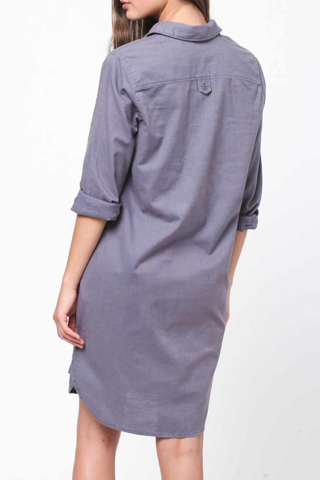 Movint Shirt Dress - Side Cropped Image