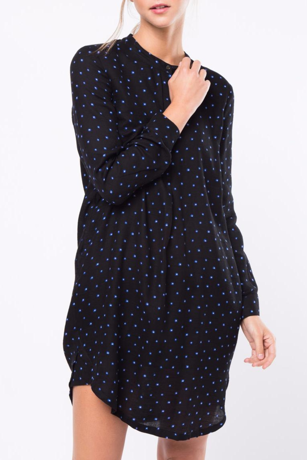 Movint Shirt Dress With Pocket Detail - Main Image