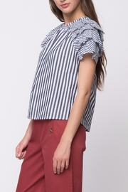 Movint Short Ruffle Sleeve Top - Other