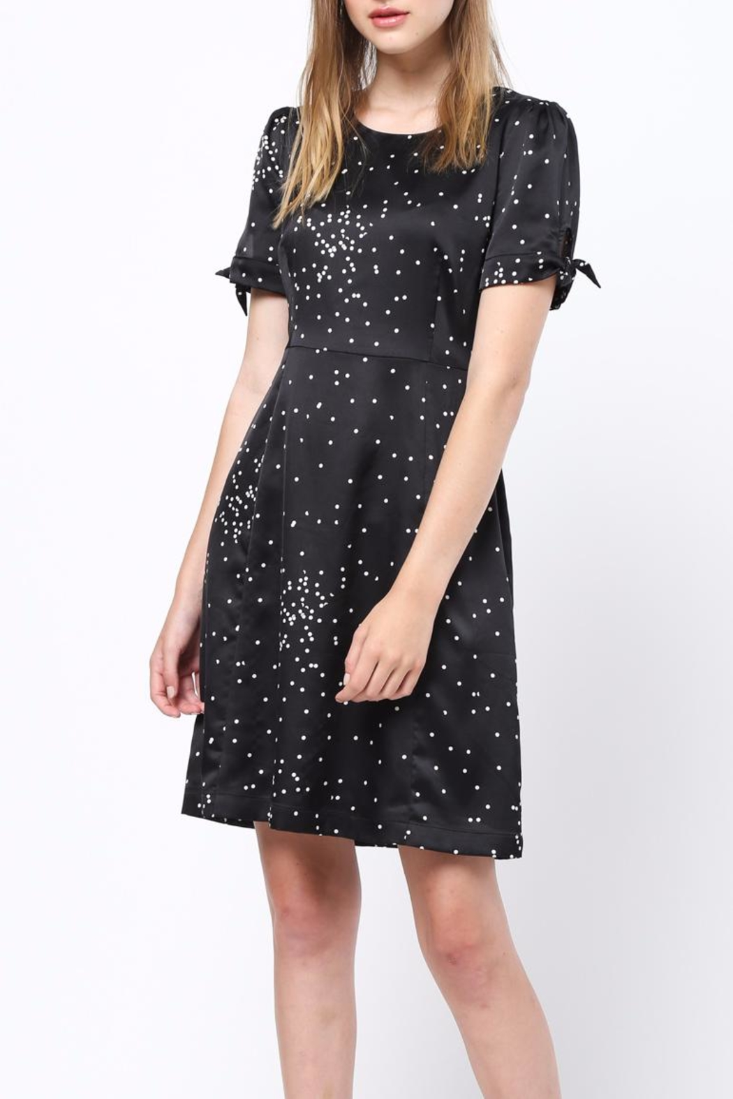 Movint Tie Sleeve Detailed Dress - Main Image