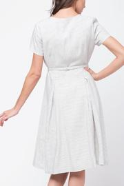 Movint Short Sleeve Wrap Dress - Side cropped