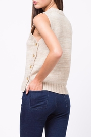 Movint Side Button Down Sweater - Front full body