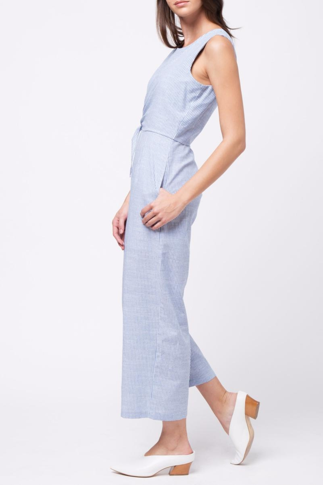 Movint Side Knot Detailed Jumpsuit - Front Full Image