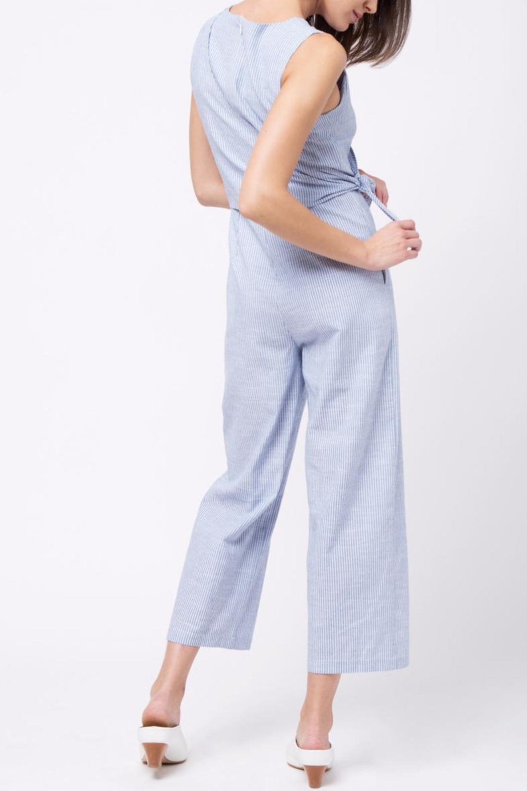 Movint Side Knot Detailed Jumpsuit - Side Cropped Image