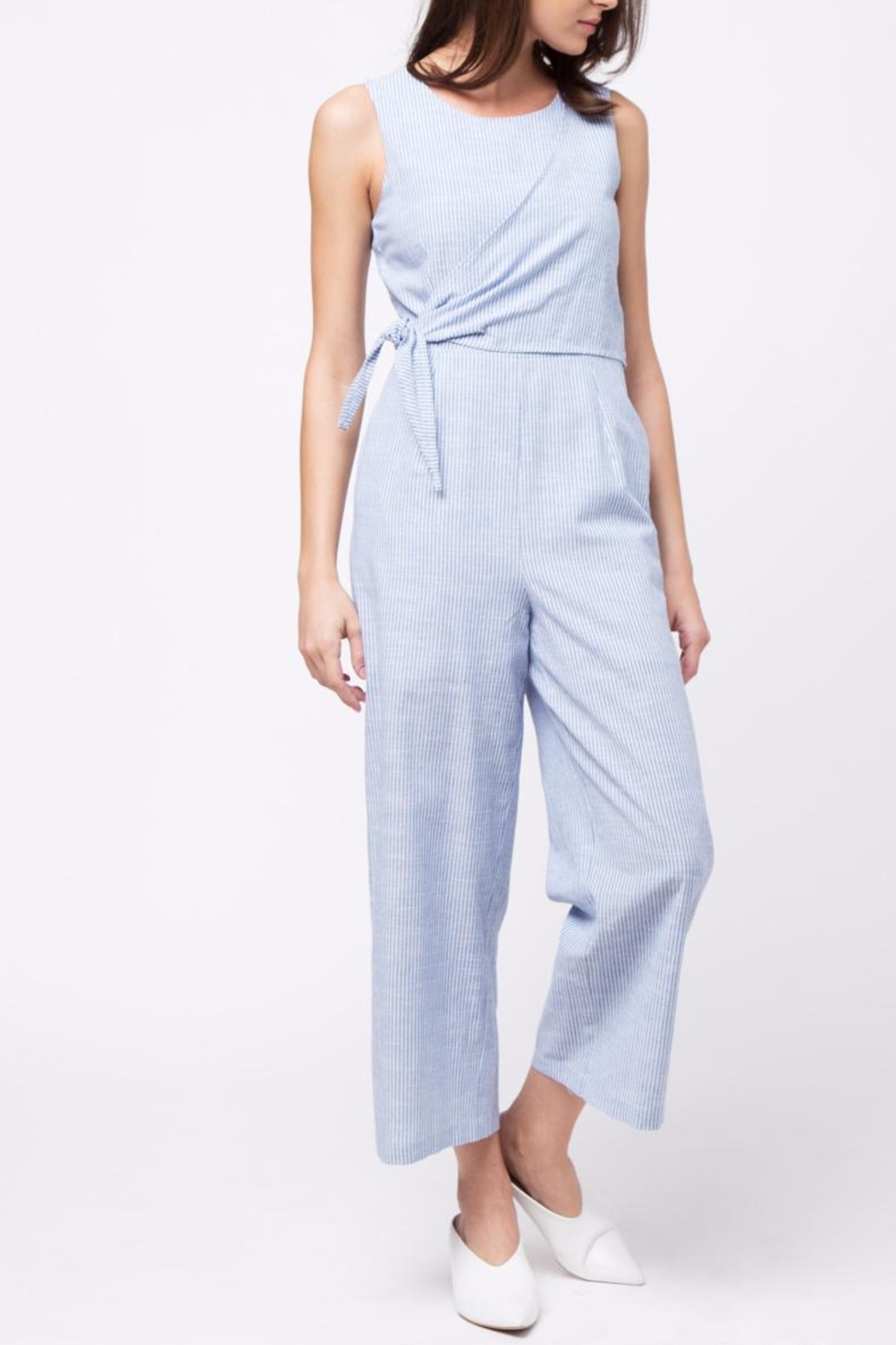 Movint Side Knot Detailed Jumpsuit - Main Image