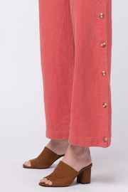 Movint Button Up Wide Pants - Back cropped