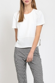 Movint Side Slit Top - Front cropped