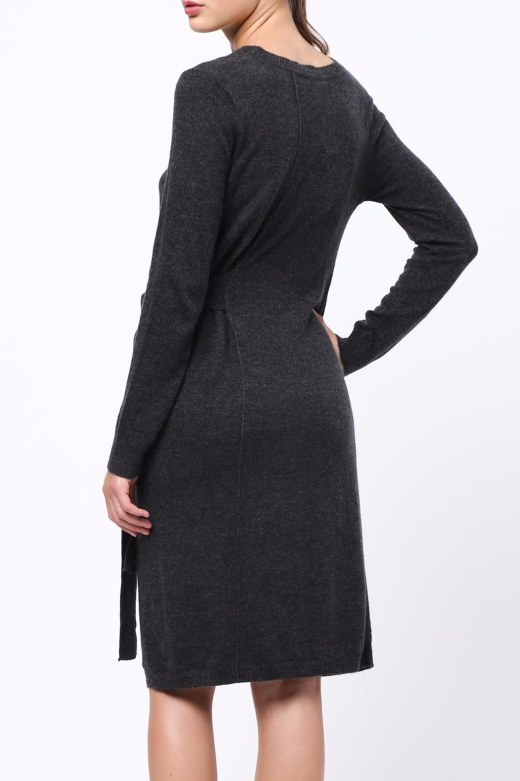 Movint Side Tie Waist Dress - Front Full Image