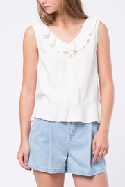 Movint Sleeveless Ruffle Top - Product Mini Image