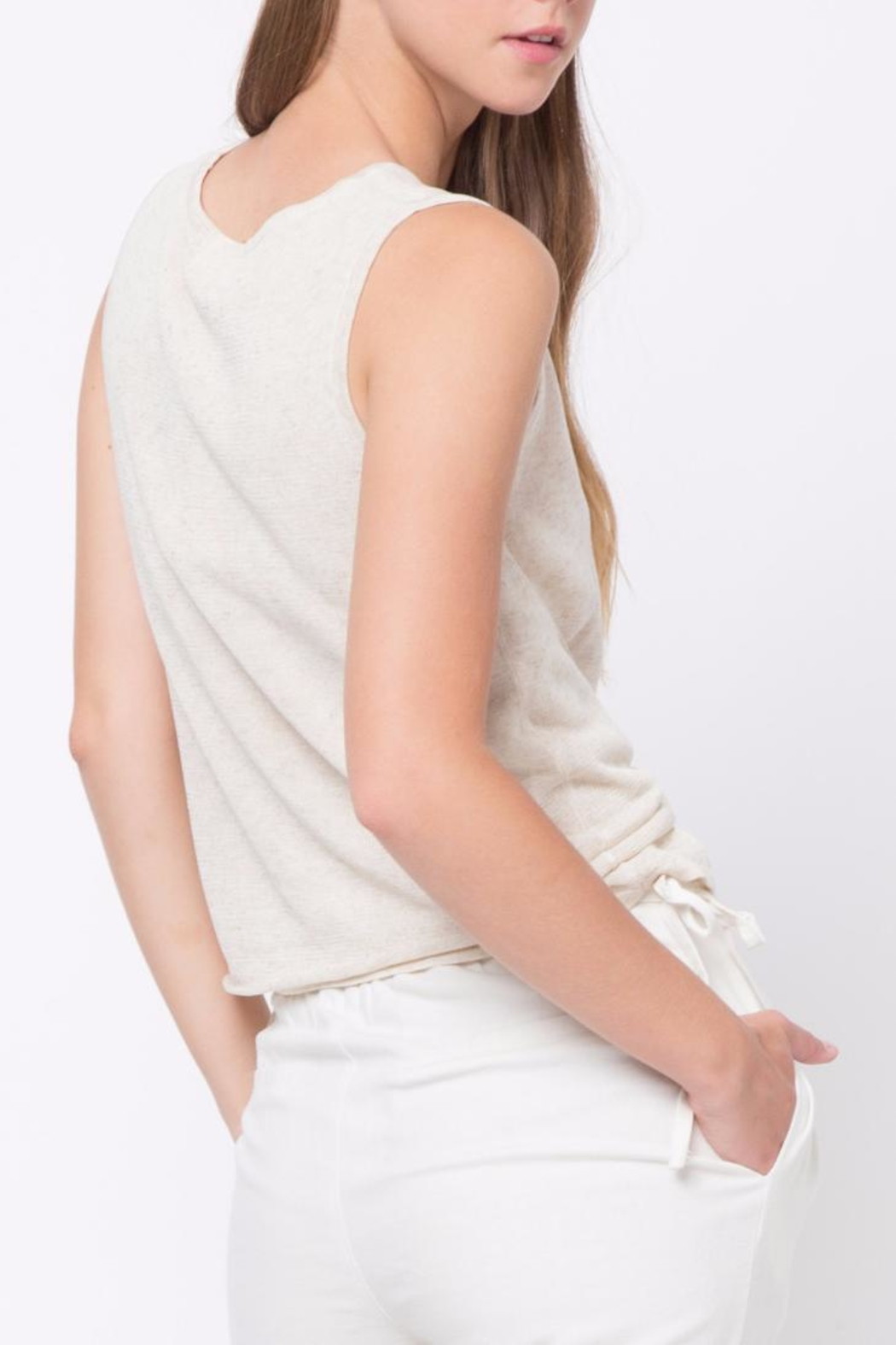 Movint Sleeveless Tank Top - Front Full Image