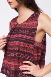 Movint Sleeveless Crochet Detail Top - Other