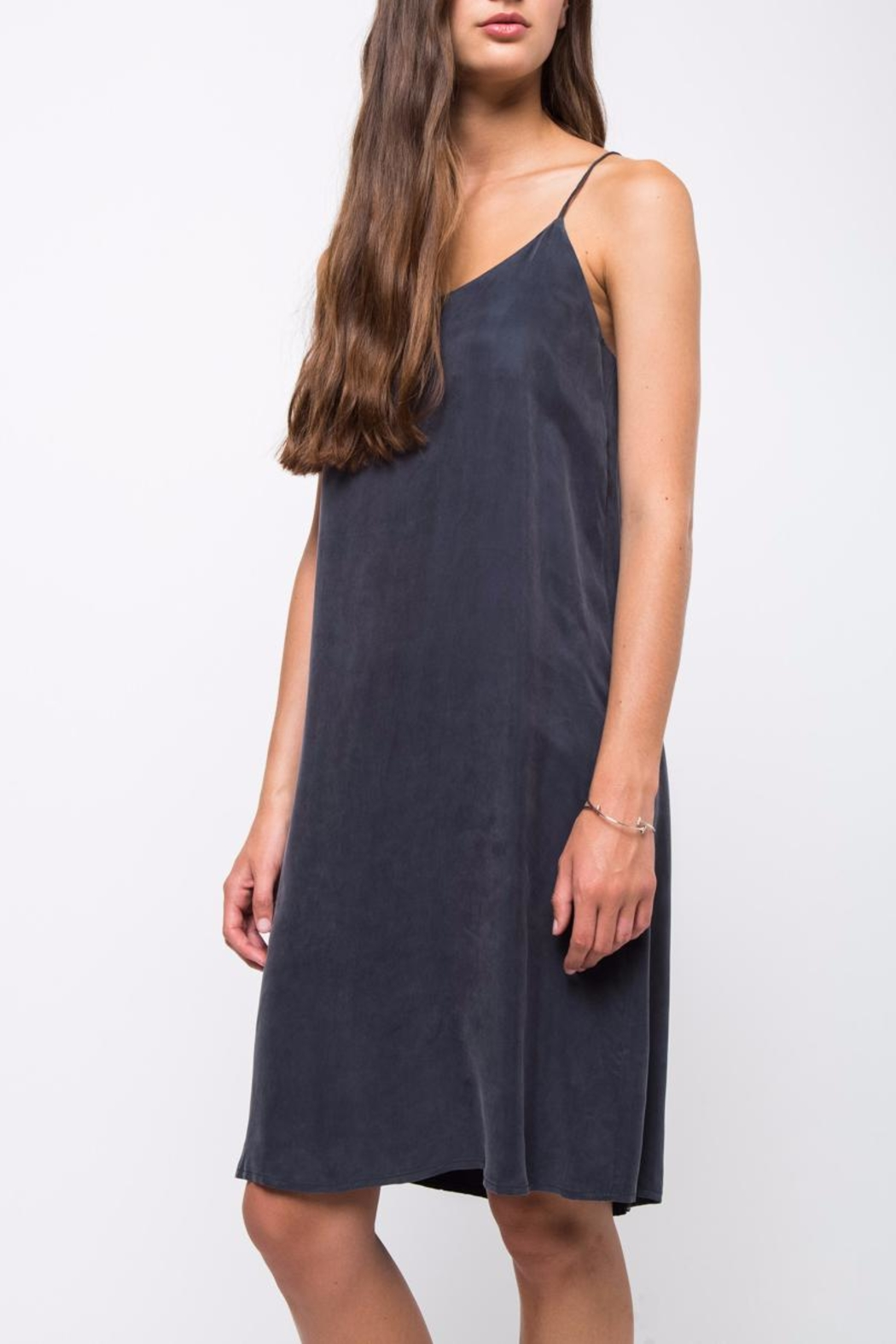 Movint Slip Long Dress - Front Cropped Image