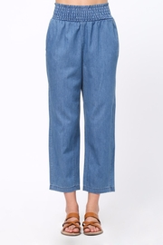 Movint Smocking Band Detail Pants - Front cropped
