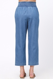 Movint Smocking Band Detail Pants - Front full body