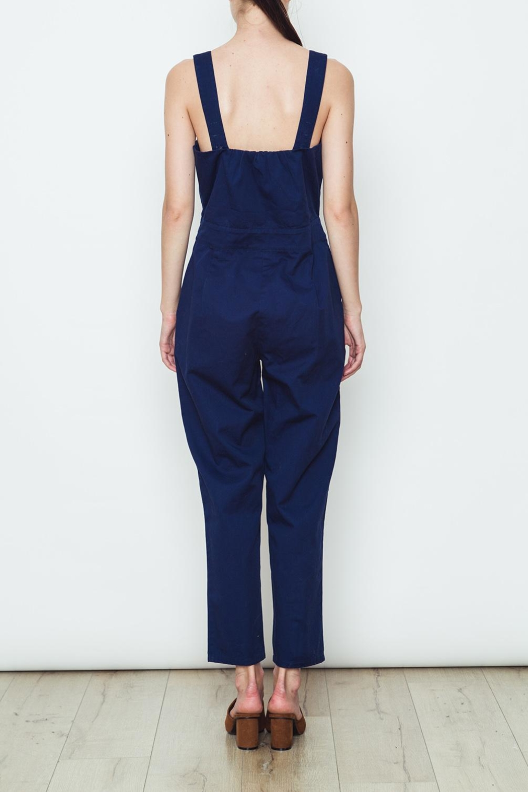 Movint Solid Colored Overalls - Side Cropped Image