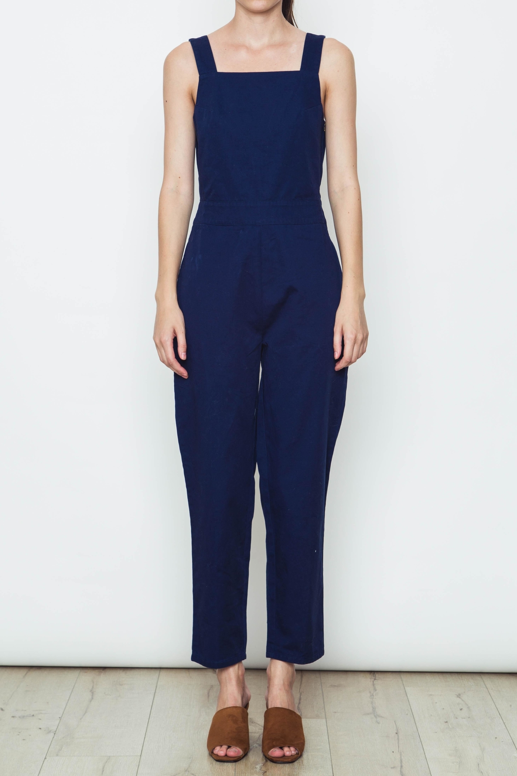 Movint Solid Colored Overalls - Main Image