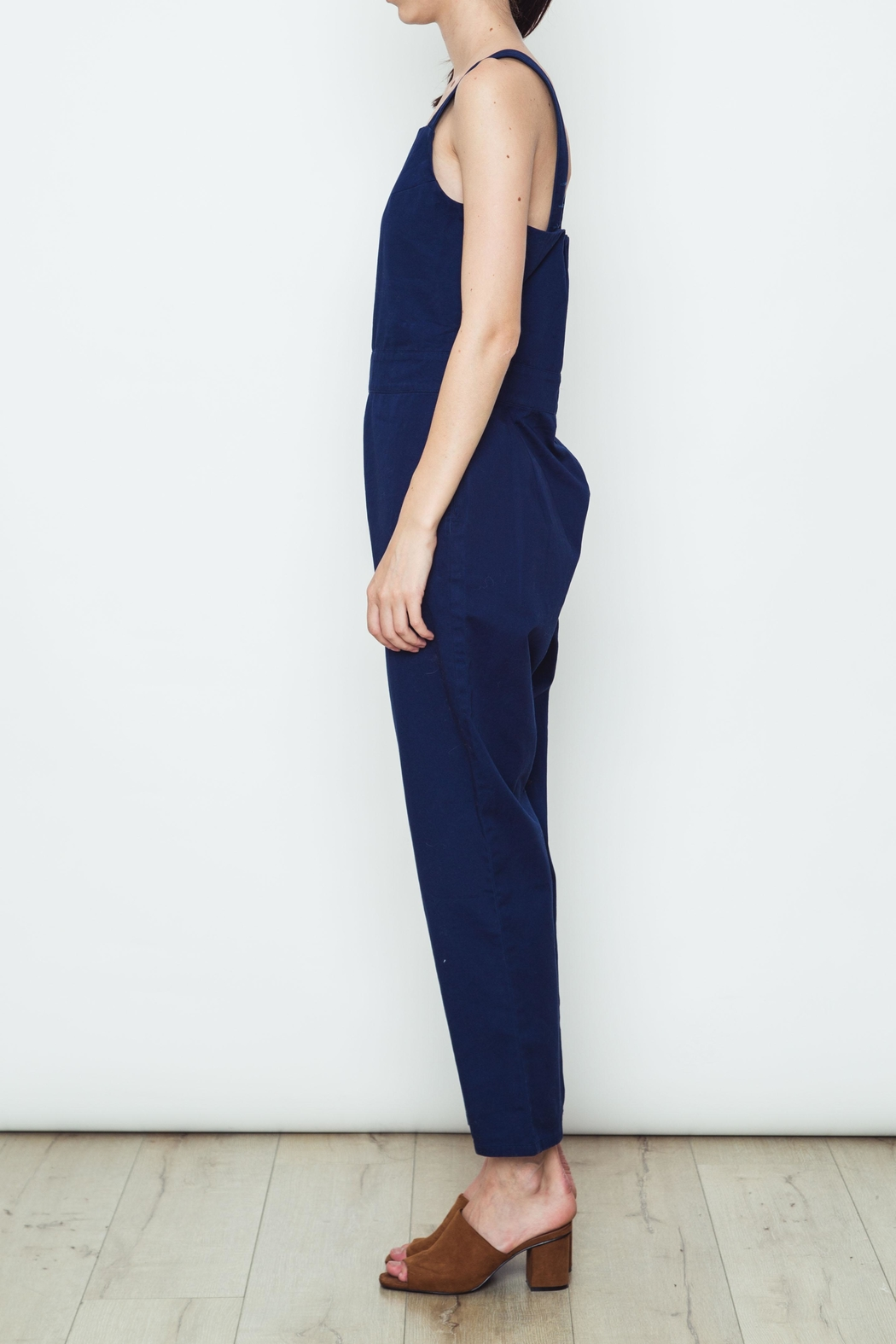 Movint Solid Colored Overalls - Front Full Image
