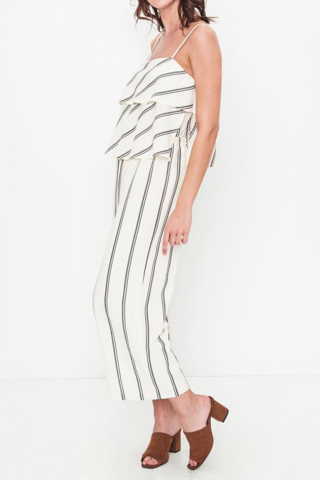 Movint Sprited Jumpsuit - Side Cropped Image