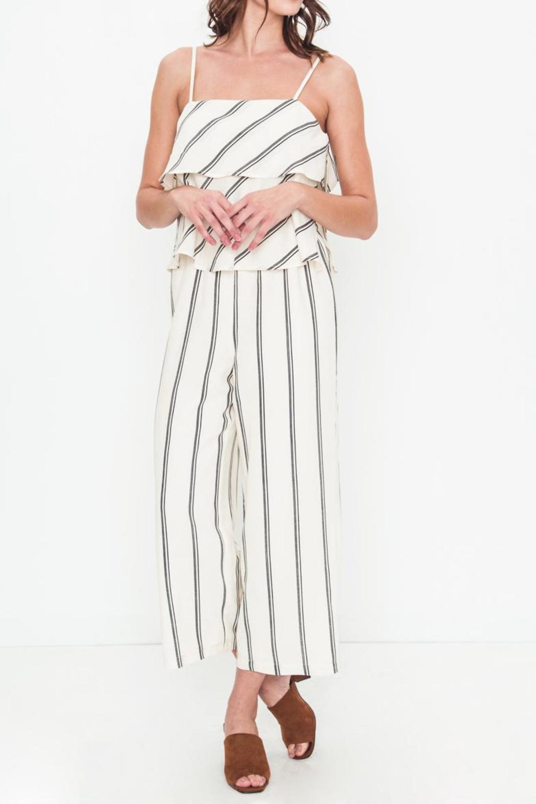 Movint Sprited Jumpsuit - Front Cropped Image