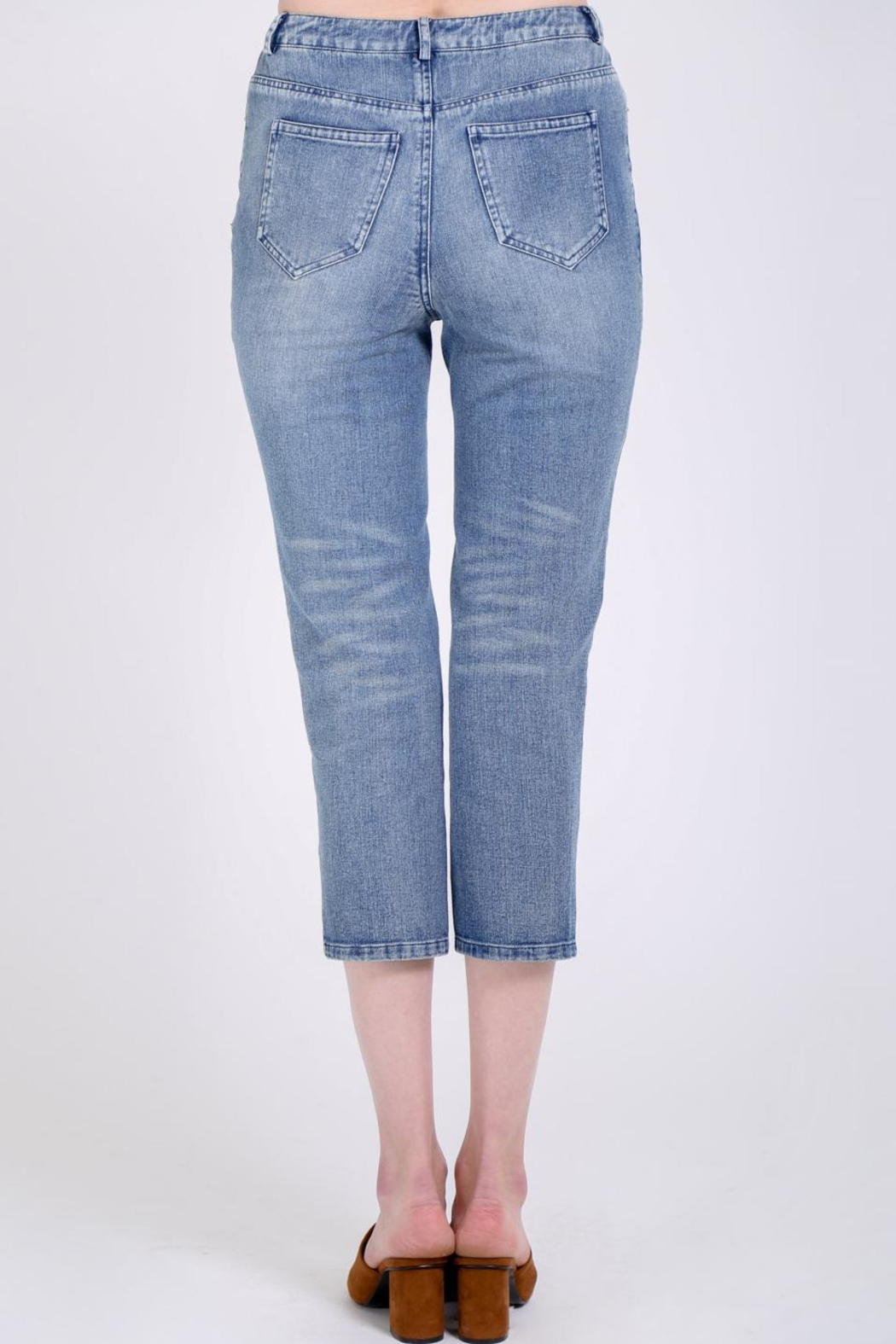 Movint Straight Jeans - Side Cropped Image