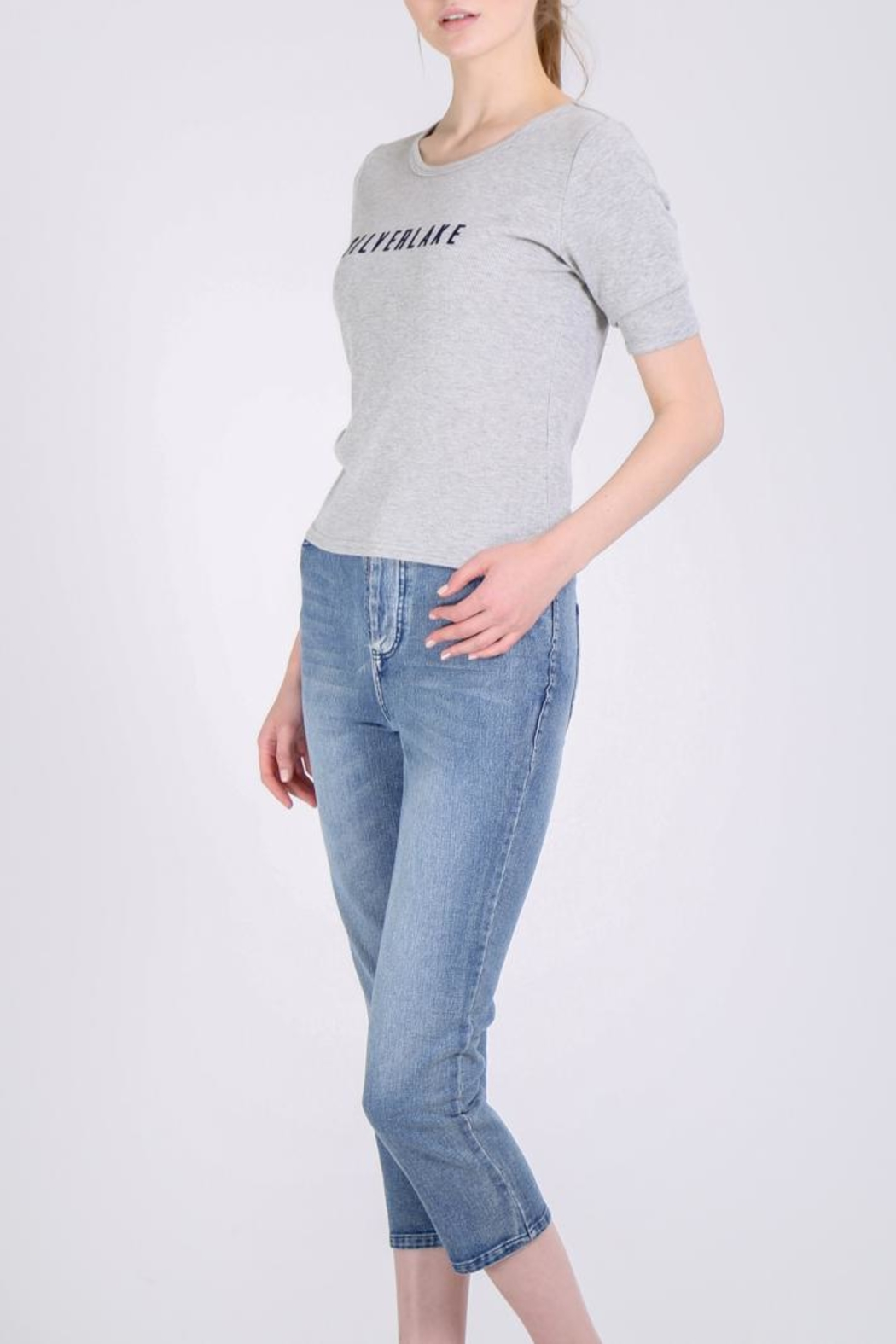 Movint Straight Jeans - Front Full Image