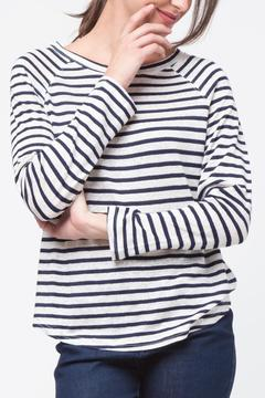 Shoptiques Product: Stripe Long Sleeve Shirt