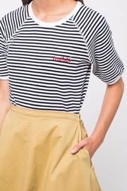 Movint Striped Half Sleeve Shirt - Front cropped