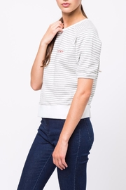 Movint Striped Half Sleeve Shirt - Side cropped