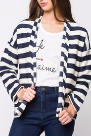 Movint Striped Jersey Jacket - Front cropped