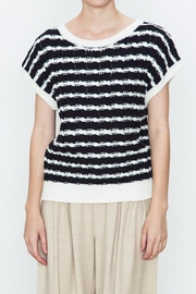 Movint Striped Sweater Top - Product Mini Image