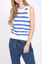 Movint Striped Sweater Tank - Product Mini Image