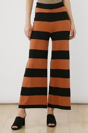 Movint Striped Wide Leg Pants - Front cropped