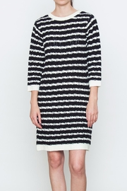 Movint Sweater Striped Dress - Product Mini Image